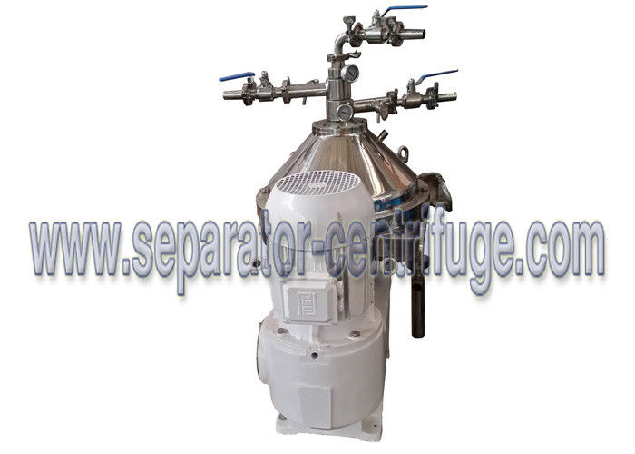 Self-Cleaning Centrifugal Separator For Extraction Of Coconut Oil