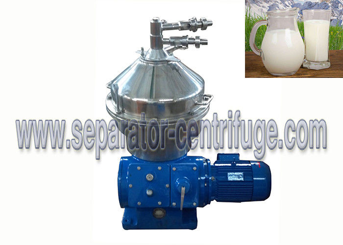 Fresh Milk Processing Automatic Cleaning Disc Stack Centrifuges