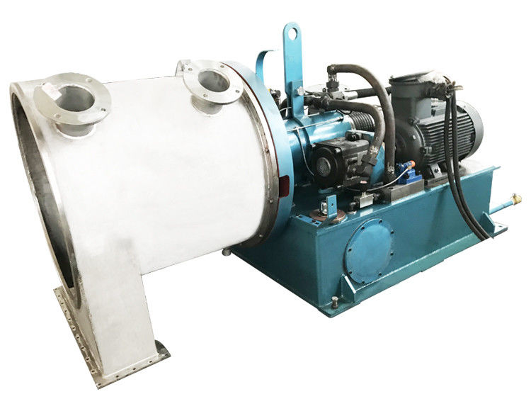 Marine Salt Dewatering Pusher Centrifuge Machine / Salt Dehydrator High Performance